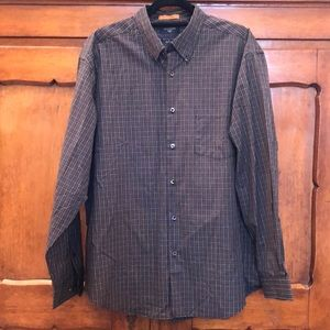 🛍EUC Men's Dockers Plaid long sleeve shirt
